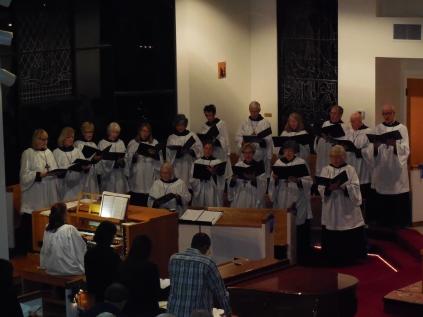 Our fabulous choir